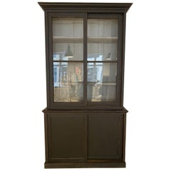 Antique French Tallboy / Display / Bookcase Cabinet