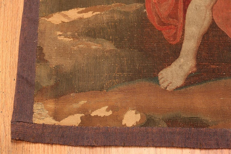 Antique French tapestry, country of origin: France, circa late 19th century.