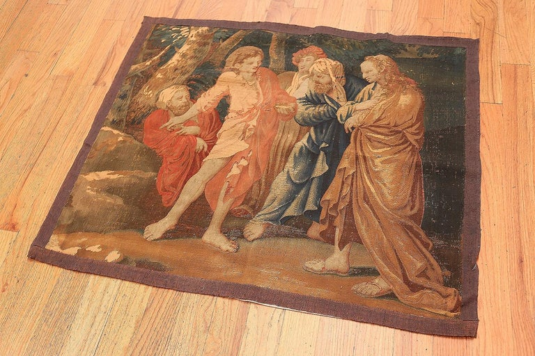 Antique French Tapestry In Good Condition In New York, NY