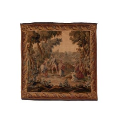 Antique French Tapestry, Mid-19th Century, circa 1850s