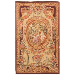 Antique French Tapestry Panel, circa 1890