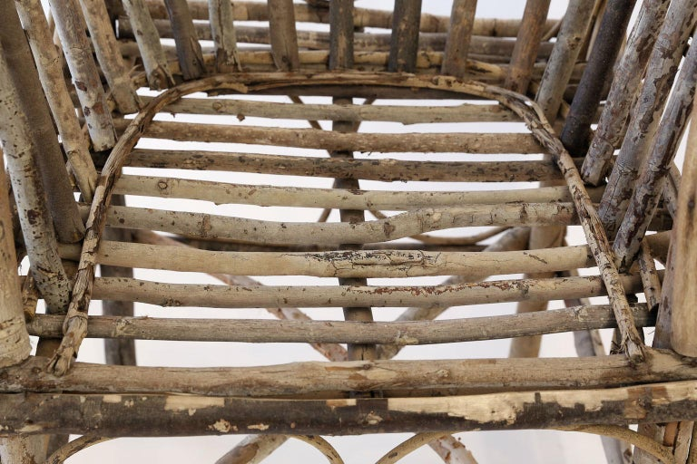 Antique French Twig Chair For Sale 4