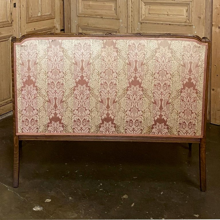 Antique French Walnut Louis XVI Canape, Sofa For Sale 9
