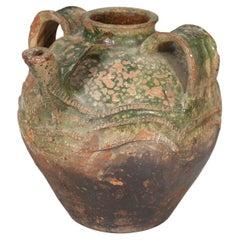 Antique French Walnut Oil Jar, c1800's