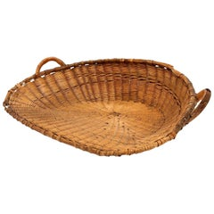 Antique French Winnowing Basket
