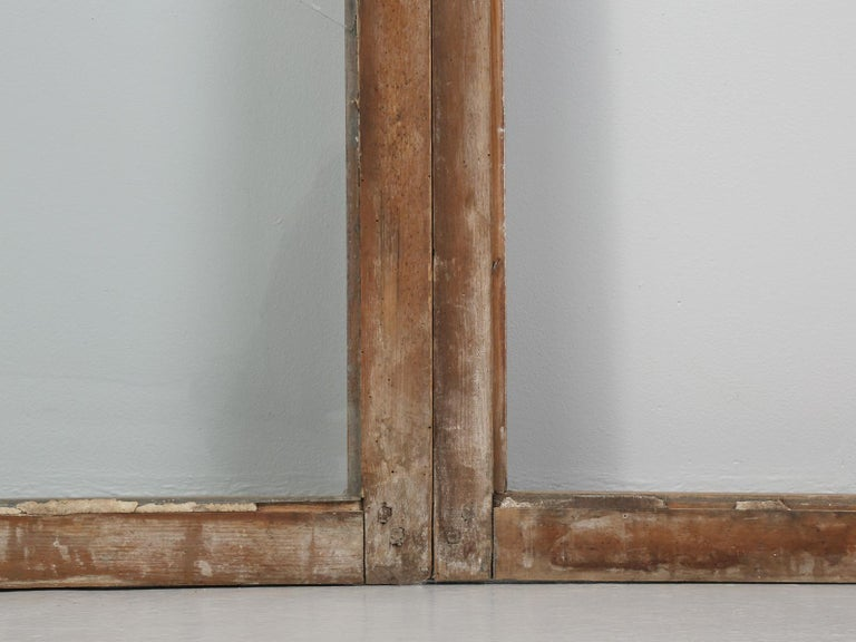 Antique French Wood and Glass Doors For Sale 8