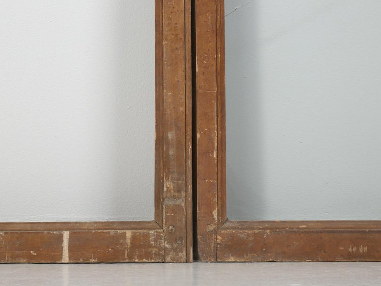 Antique French Wood and Glass Doors For Sale 2