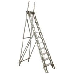 Antique French Wooden Ladder