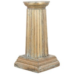 Antique French Wooden Pedestal