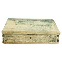 Antique French Wooden Podium Box