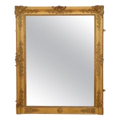 Antique French 19th Century Mirror