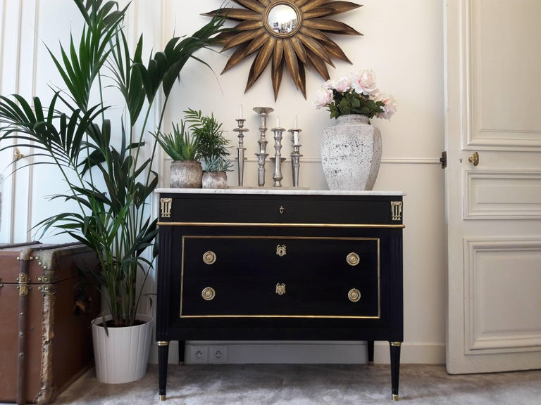 Antique French, Louis XVI Style Chest of Drawers Commode 5