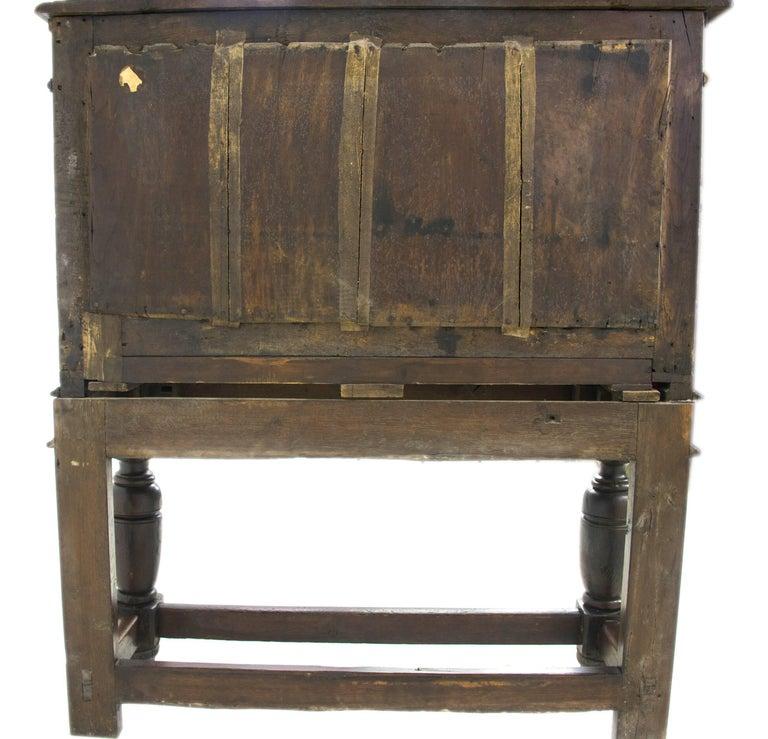 Antique Furniture Sideboard, Georgian Court Cupboard, Scotland, 1810 For Sale at 1stdibs