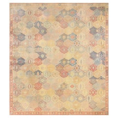 Antique Garden Design Israeli Bezalel Carpet. Size: 15 ft 9 in x 17 ft 10 in