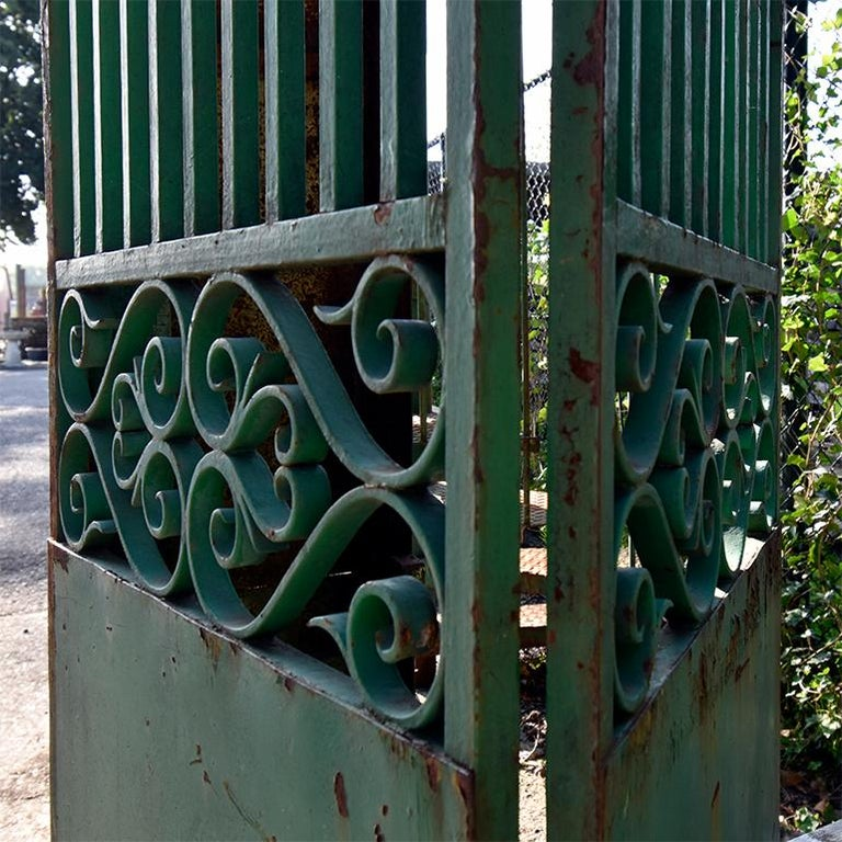 Cast Antique Gate from France, 19th Century For Sale