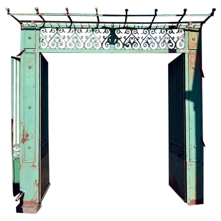 Antique Gate from France, 19th Century For Sale