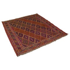Antique Gazak Rug, Middle Eastern, Nomadic, Tribal, Decorative Carpet, C.1900