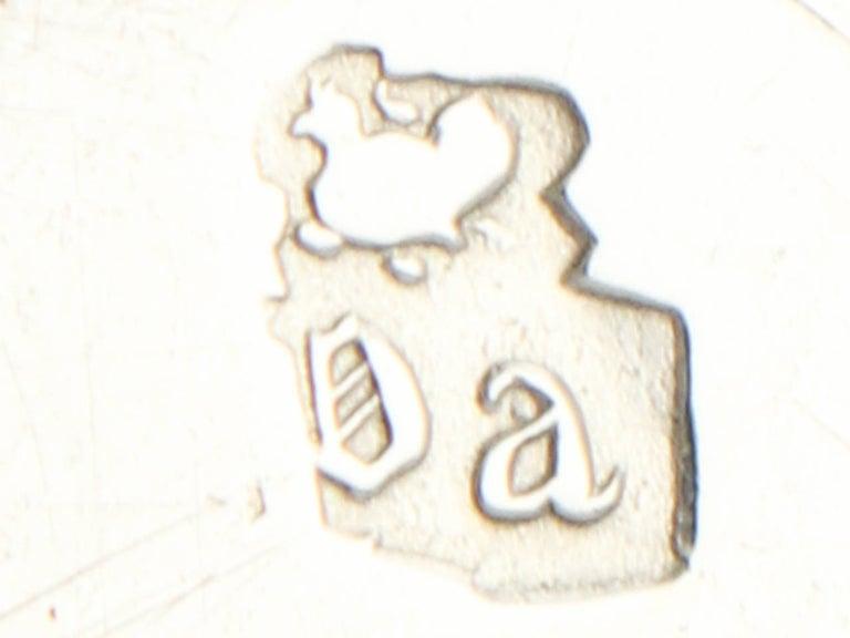 Antique George I 1717 Britannia Standard Silver Porringer For Sale 2