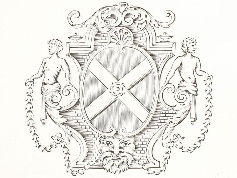 Antique George II Britannia Standard Silver Salvers For Sale 2
