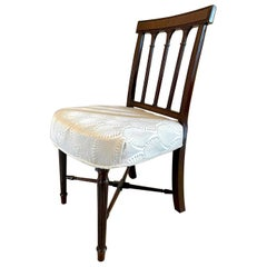 Antique George III Antique Mahogany Side Chair