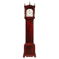 Antique George III Mahogany Longcase Clock by Samuel Hunter of Islington, London