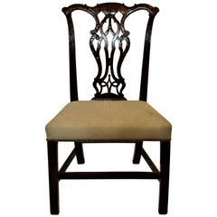 Antique George III Mahogany Side Chair