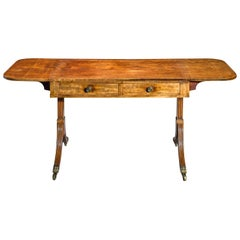 Antique George III Mahogany Sofa Table in Mahogany in the Manner of Gillows
