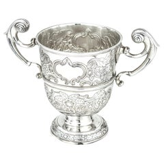 Antique George 'III' Sterling Silver Irish Cup