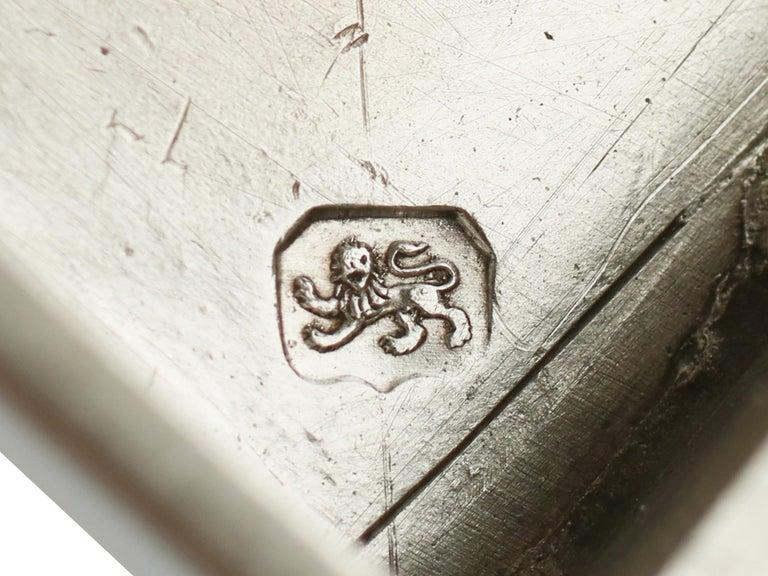 Antique George III Sterling Silver Samovar For Sale 7