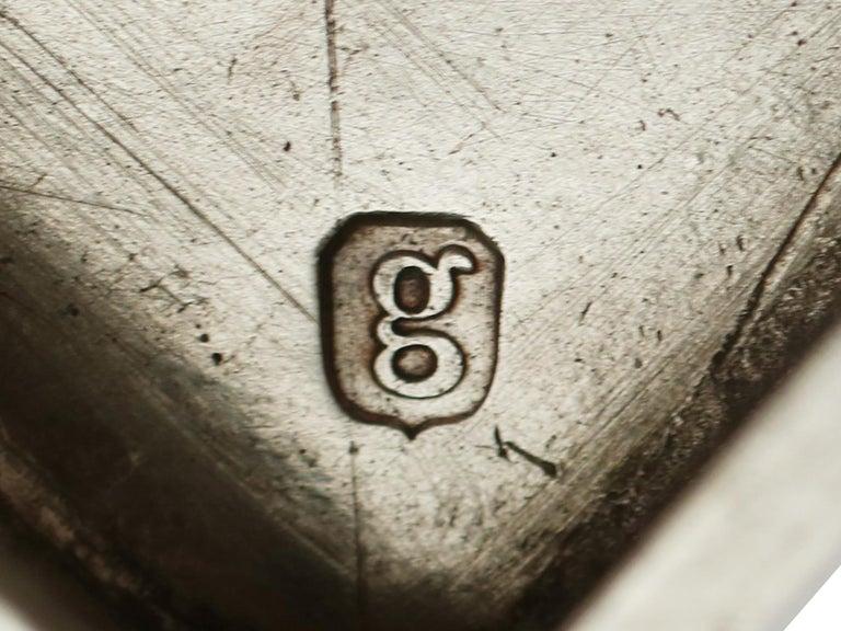 Antique George III Sterling Silver Samovar For Sale 8