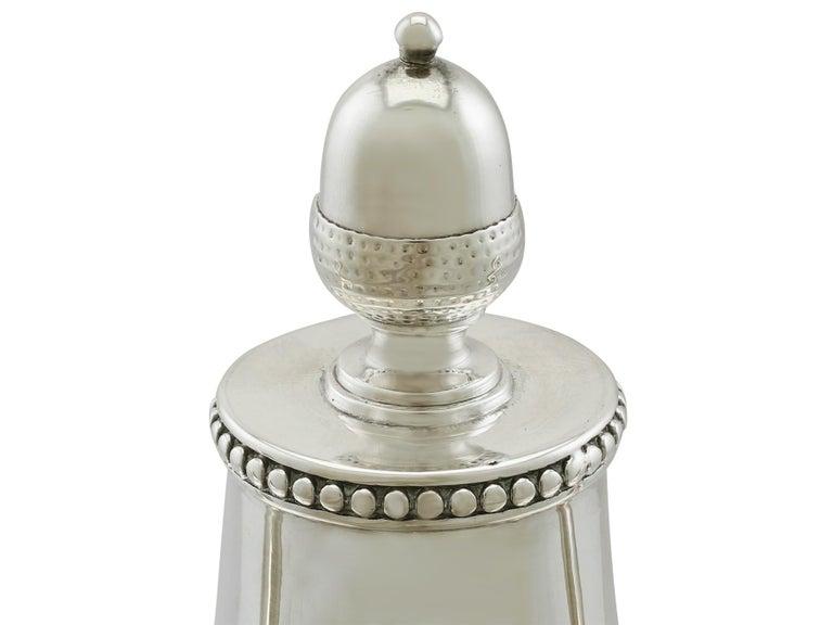 Antique George III Sterling Silver Samovar For Sale 3