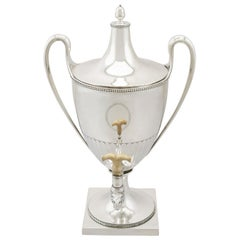 Antique George III Sterling Silver Samovar