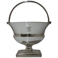 Antique George III Sterling Silver Sugar Basket London 1801 Paul Storr