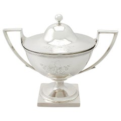 Antique George III Sterling Silver Tureen