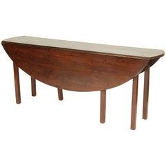 Antique George III Style Mahogany Wake Table
