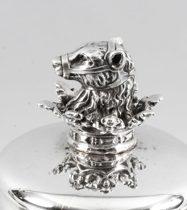 Antique George IV Silver Coffee Pot by Paul Storr London, 1826, 19th Century 4