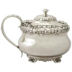 Antique George IV Sterling Silver Mustard Pot