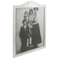 Antique George V 1925 Sterling Silver Photograph Frame