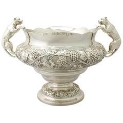 Antique George V Sterling Silver Presentation Bowl by Frank Hyams Ltd
