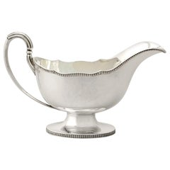 Antique George V Sterling Silver Sauce/Gravy Boat