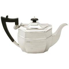 Antique George V Sterling Silver Teapot