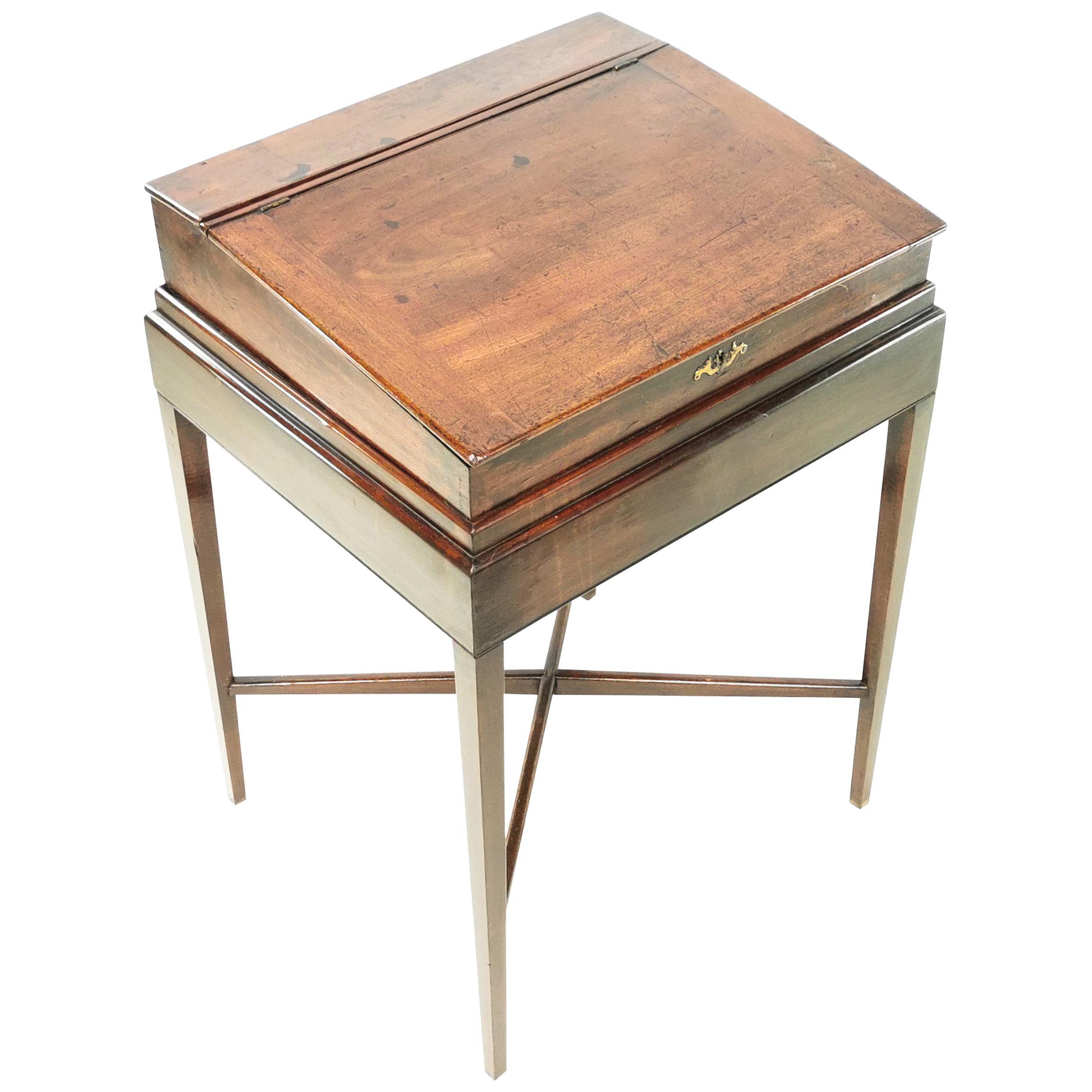 Antique Georgian 18th Century Clerks Writing Desk