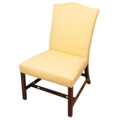 Antique Georgian 18th Century Mahogany Side Chair