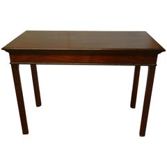 Antique Georgian Chippendale Mahogany Table, circa 1760