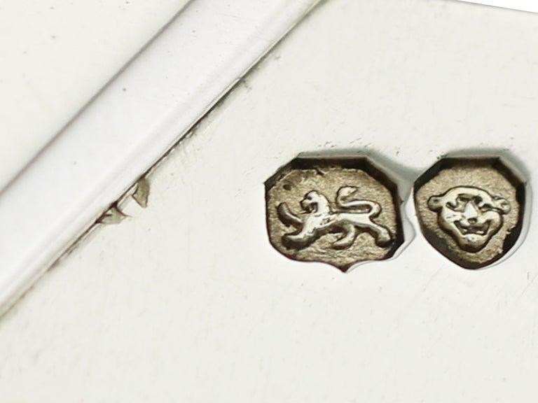 Antique Georgian English Composite Sterling Silver Grape Scissors For Sale 4