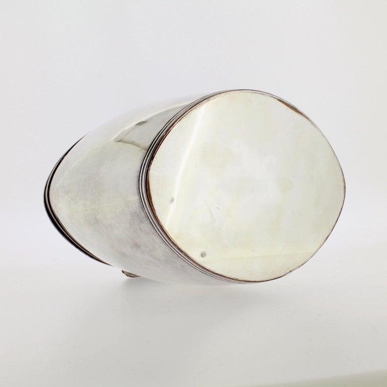 Antique Georgian English Sheffield Silver Plate Tea Caddy For Sale 7