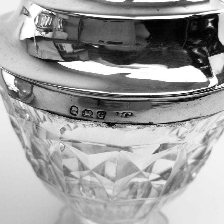 Antique Georgian George III Cruet Set / Condiment Stand 1802 For Sale 4