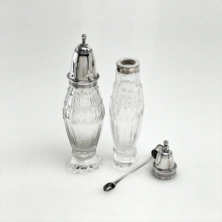 Antique Georgian George III Cruet Set / Condiment Stand 1802 For Sale 1