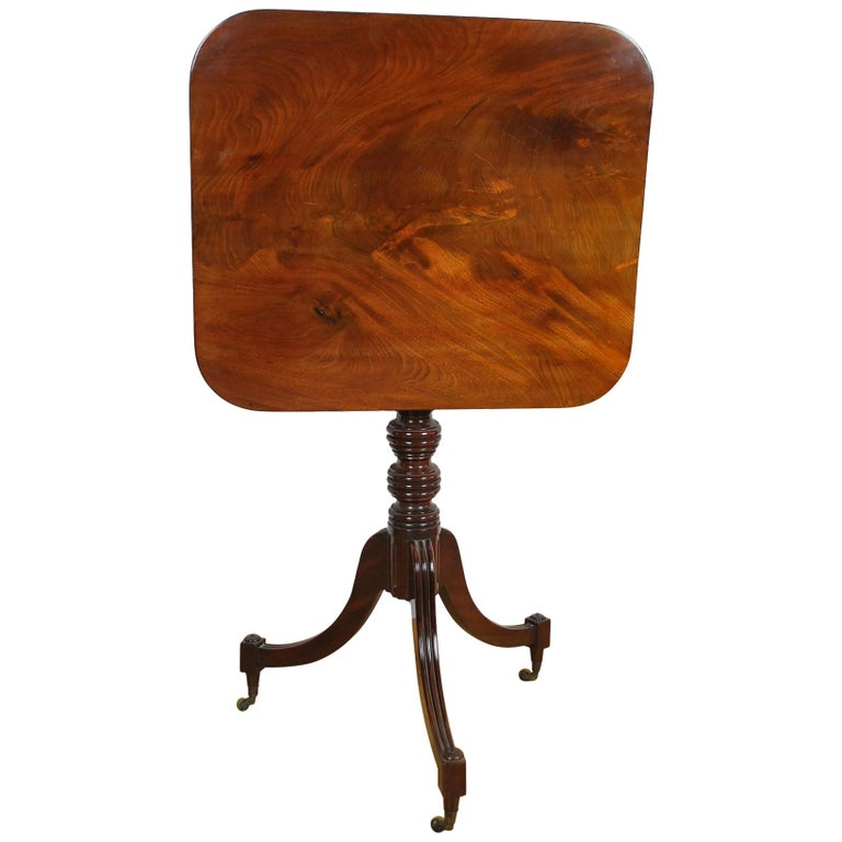Antique Georgian Gillows Tripod/ Occasional Table  For Sale