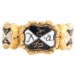 Antique Georgian Magical Locket Ring